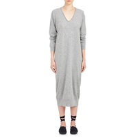 Tomas Maier Cashmere Long Sweaterdress Gray
