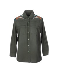 Sandrine Rose Shirts Military Green