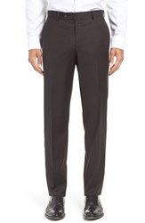 Ted Baker Men's London 'Jefferson' Trim Fit Solid Wool Trousers