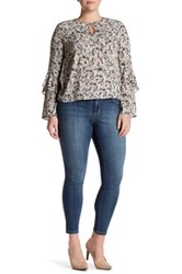 Jessica Simpson Kiss Me Super Skinny Jean Plus Size Blue