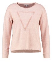 Mavi Jeans Jumper Rose Dust Mottled Rose