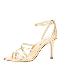 Marion Parke Lillian Strappy Evening Sandals Soft Gold