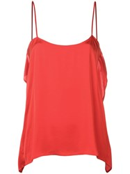 Semicouture Loose Cami Top Red