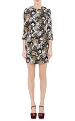 A.L.C. Women's Tordi Damask Print Crepe Dress No Color