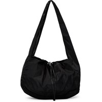 Kara Black Nylon Cloud Bag