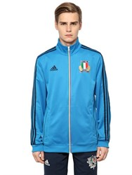 Adidas Italy Rugby Team Zip Up Track Jacket