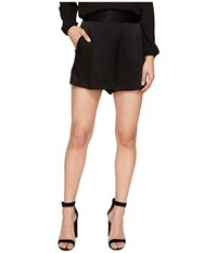 1.State Flat Front Shorts Rich Black Women's Shorts