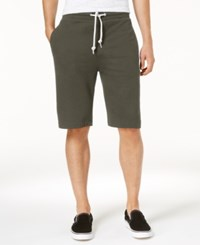 American Rag Men's Knit Shorts Created For Macy's Simple Sage