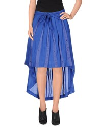 Eleven Paris Skirts Knee Length Skirts Women Blue
