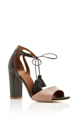 Malone Souliers Black And Nude Gladys Sandal