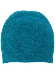 Roberto Collina Knitted Hat Blue