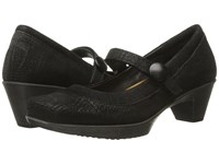 Naot Footwear Latest Black Crackle Leather Shiny Black Leather Women's Flat Shoes