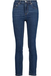 Marc By Marc Jacobs Ella High Rise Skinny Jeans Mid Denim
