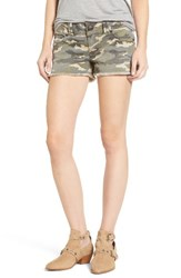 True Religion Women's Brand Jeans Keira Cutoff Denim Shorts