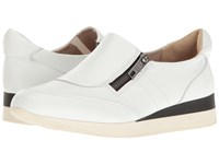 Naturalizer Jetty White Leather Women's Shoes