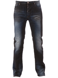 Maison Martin Margiela Faded Detail Jeans Blue