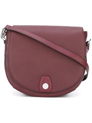 Rag And Bone 'Flight' Saddle Bag Pink And Purple