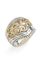 Women's Konstantino 'Hebe' Swirl Etched Ring