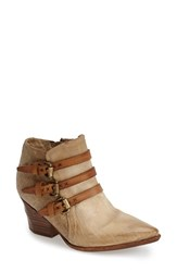 Women's A.S.98 'Stanford' Leather Western Bootie 2 3 4' Heel