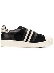 Moa Master Of Arts Elasticated Strap Sneakers Black