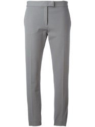 Joseph Cropped Classic Trousers Grey