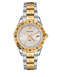 Versace Ion Plated Gold And Stainless Steel Watch V11030015 Two Tone