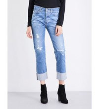 Ag Jeans The Sloan Straight High Rise 16Y Pdf