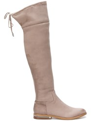 Michael Michael Kors Jamie Boots Nude And Neutrals