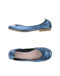 We Do Footwear Ballet Flats Women Pastel Blue