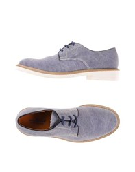 Ciro Lendini Footwear Lace Up Shoes Men Slate Blue