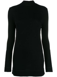 Sly010 Turtle Neck Pullover Black