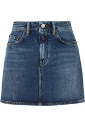 Acne Studios Mini Denim Skirt Mid Denim
