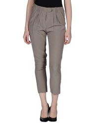 Gold Case Sogno Casual Pants Dove Grey