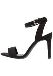 New Look Rock High Heeled Sandals Black
