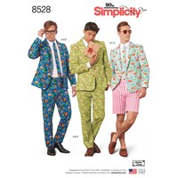 Simplicity Men's Costume Suit Sewing Pattern 8528