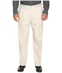 Dockers Premium Big Tall Signature Stretch Pleat Cloud Men's Casual Pants White