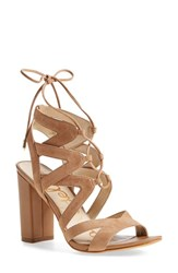 Women's Sam Edelman 'Yardley' Lace Up Sandal 4' Heel
