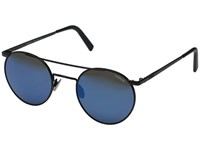 Randolph P 3 Shadow 49Mm Matte Black Blue Sky Flash Mirror Lens Fashion Sunglasses