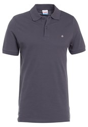 Jack And Jones Jorperfecto Slim Fit Polo Shirt Anthracite