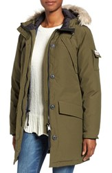 Penfield Women's Hoosac Faux Fur Trim Down Parka