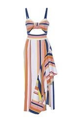 Tanya Taylor Stripe Claire Dress