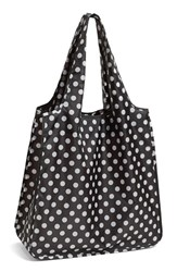 Kate Spade New York 'Polka Dot' Reusable Shopping Tote Black
