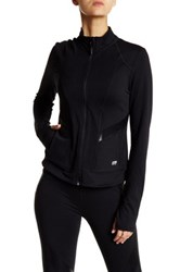 Marika High Beam Zip Up Jacket Black