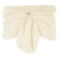 Coast Elouisa Faux Fur Wrap Ivory