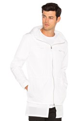 Stampd Layered Nylon Jacket White