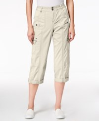 Styleandco. Style Co. Cargo Capri Pants Only At Macy's Stonewall
