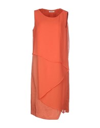 Crea Concept Dresses Knee Length Dresses Women Orange