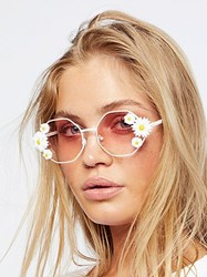 Free People Ditsy Daisy Sunglasses By