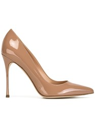 Sergio Rossi Pointed Pumps Pink Purple