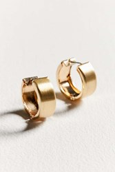 Urban Outfitters Gia Huggie Hoop Earring Gold